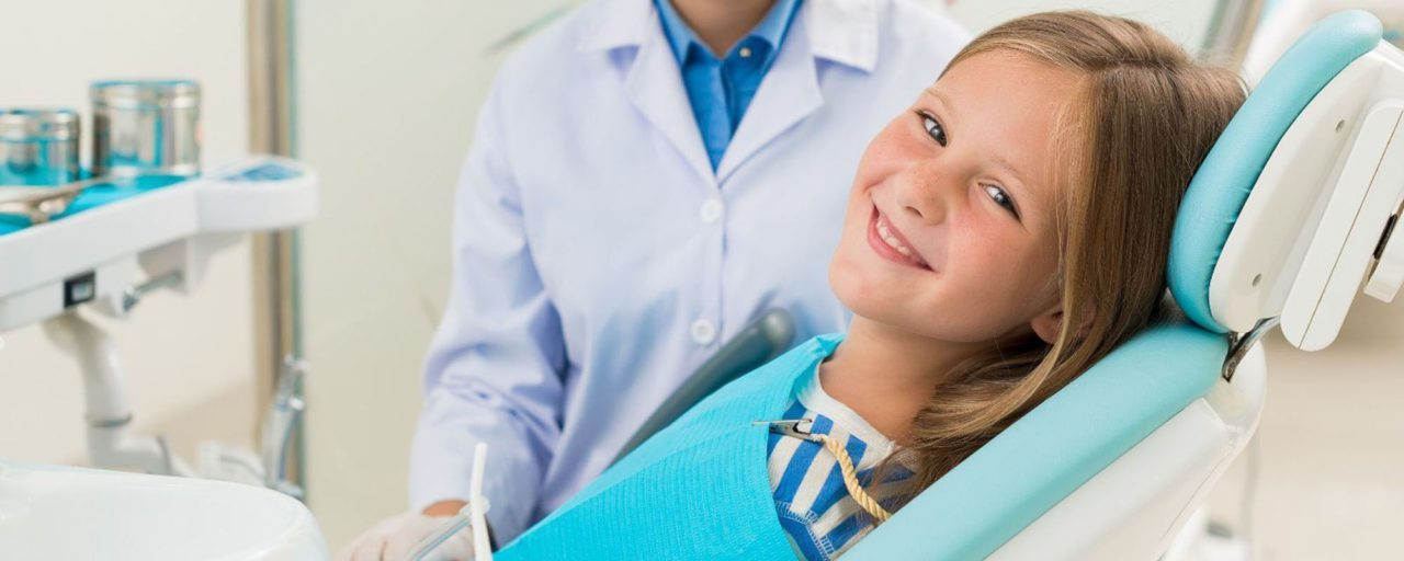 ребенок после лечения зубов